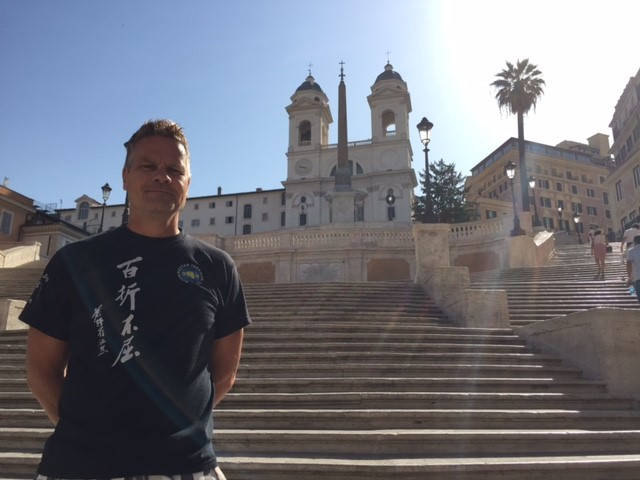 2017-06-28 - Mr. Michael Quast at The Spanish Steps in Rome, Italy